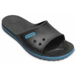 Crocband II Slide Graphite/Electric Blue