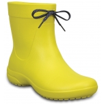 Crocs Freesail Shorty Rain Boot Lmn