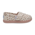TOMS Dots Kid´s Bimini Rose/Gold