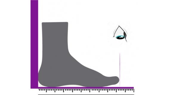 Kuidas mõõta jalga, et oskaks valida õiget jalanõu suurust?
