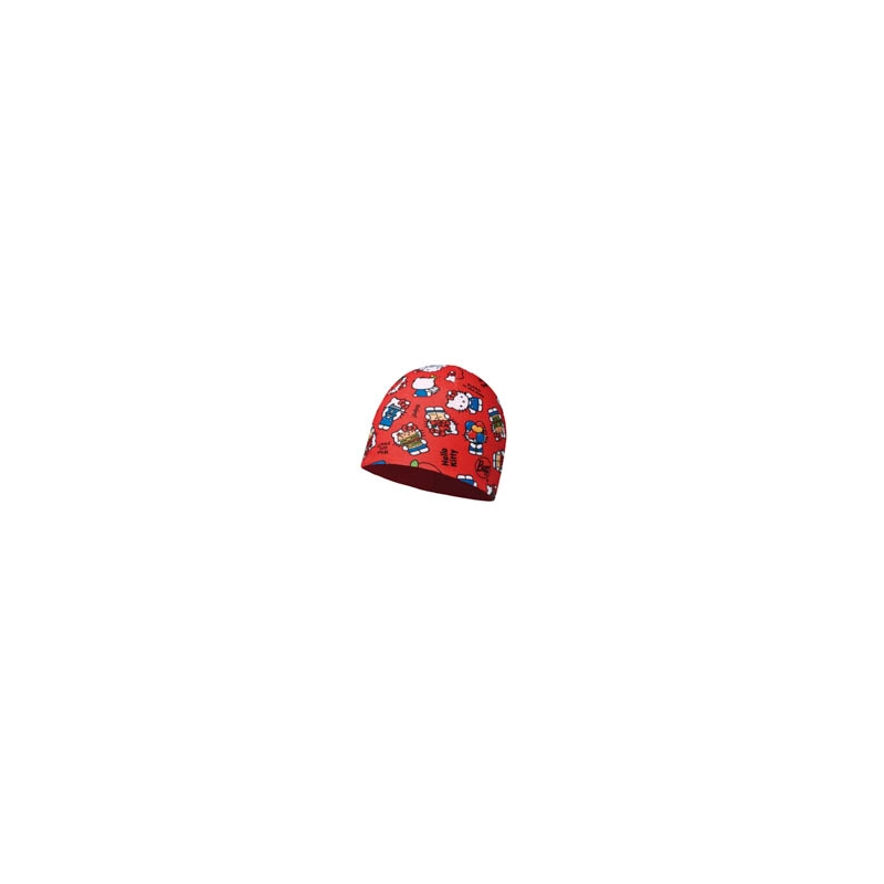 HELLO KITTY CHILD MICROFIBER POLAR HATBUFF® FOODIE RED-RED
