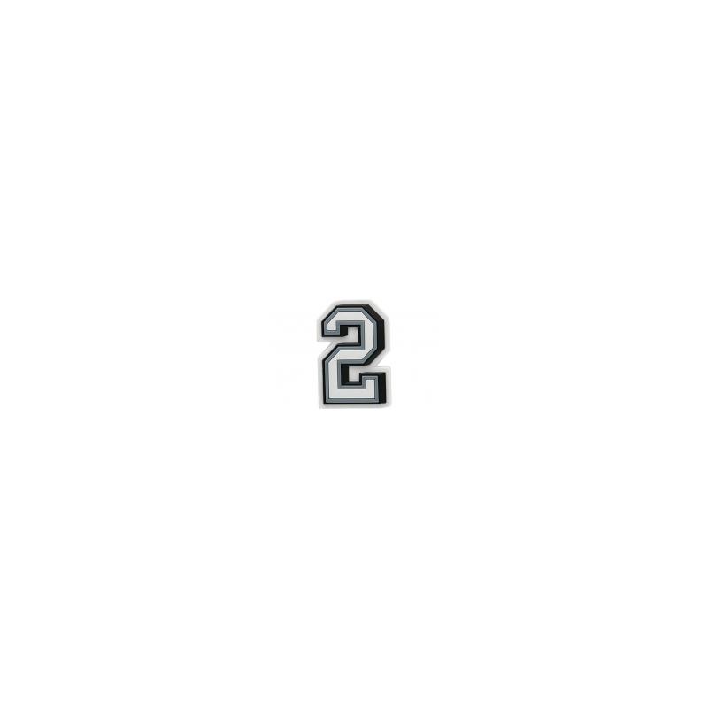 JIBBITZ B&W NUMBER 2