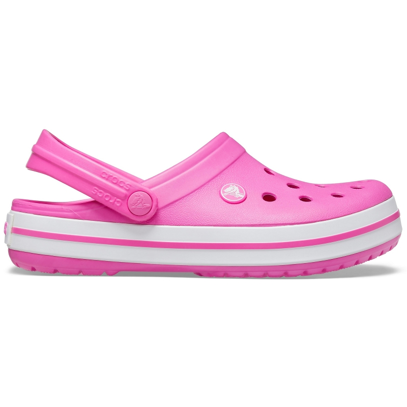 Crocband Clog Electric Pink/White