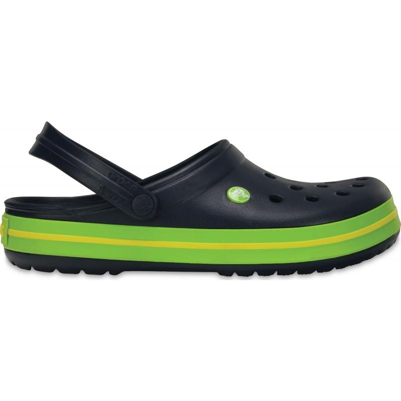 Crocband Clog Navy / Volt Green / Lemon
