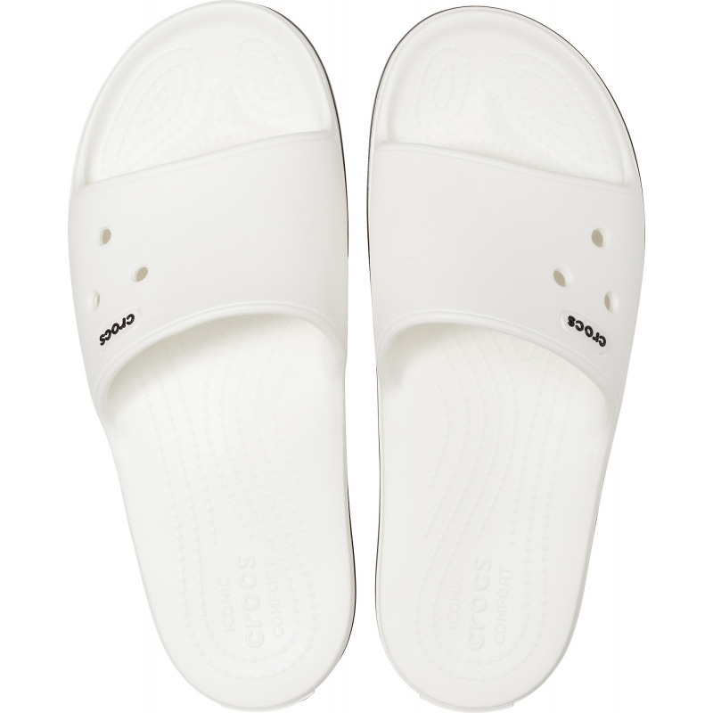 Crocband III Slide White/Black