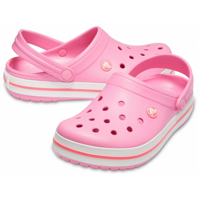 Crocband Clog Pink Lemonade/White