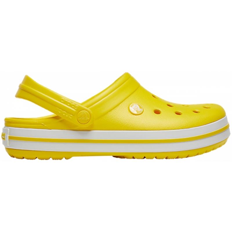 Crocband Clog Lemon/White