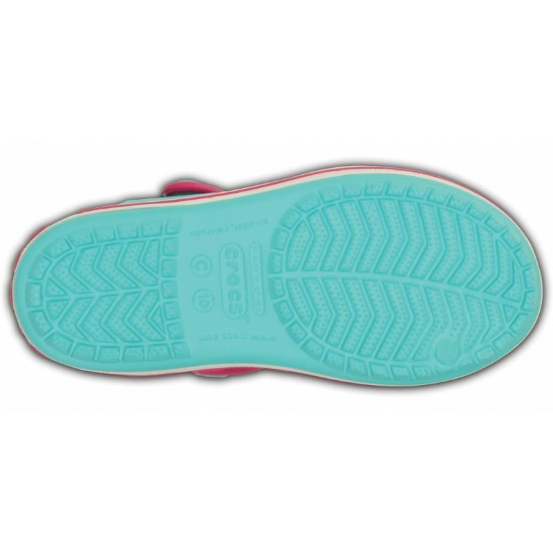 Crocband Sandal K Pool/Candy pink