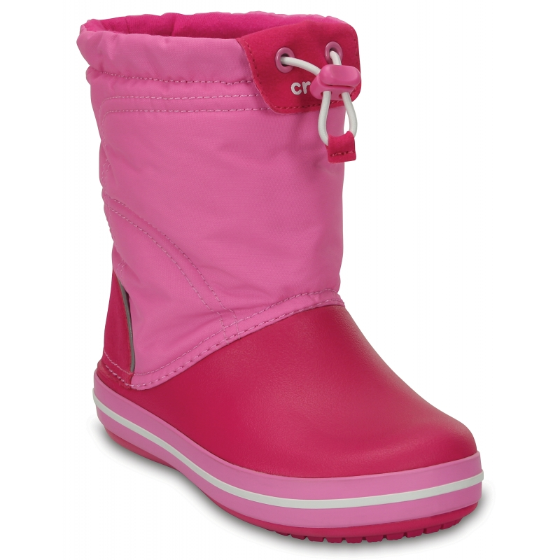 Crocband LodgePoint Boot K Candy Pink/Party Pink