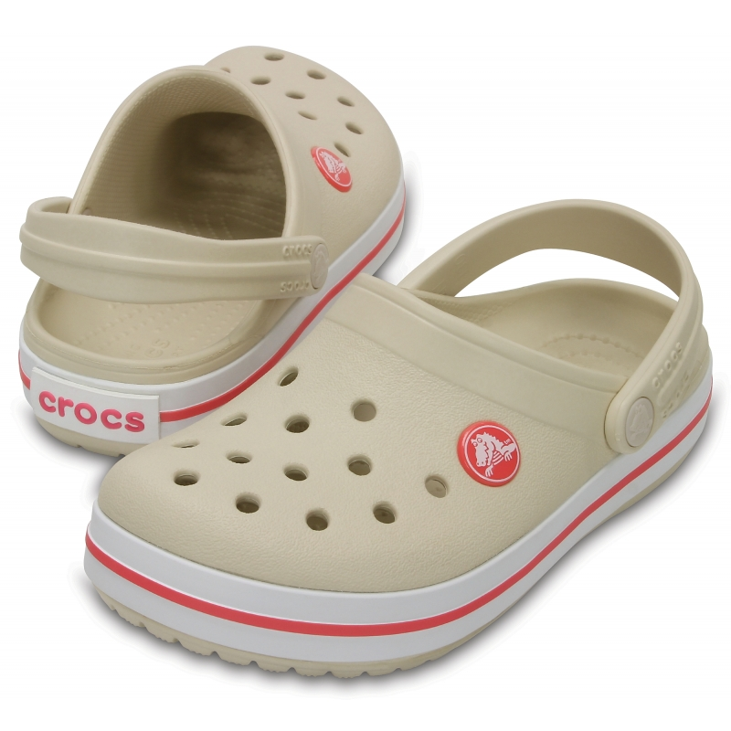 Crocband Clog K Stucco/Melon