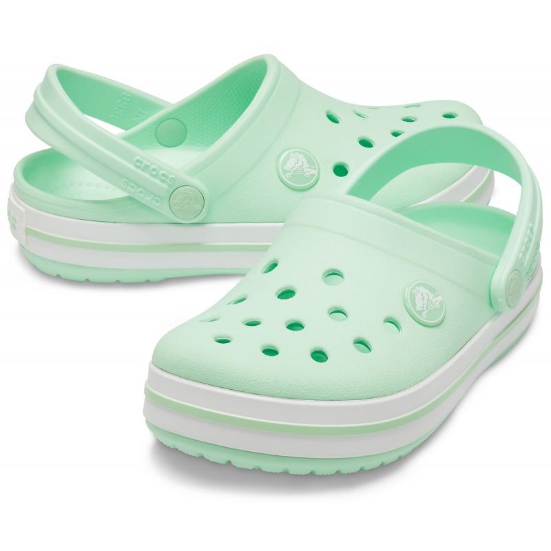 Crocband Clog K Neo Mint