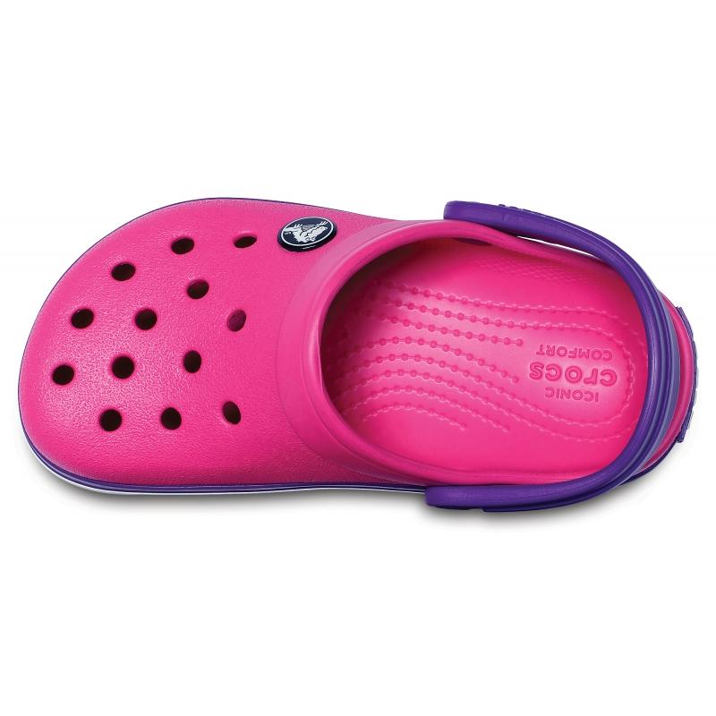 Kids' Crocband Clog Paradise Pink/Amethyst