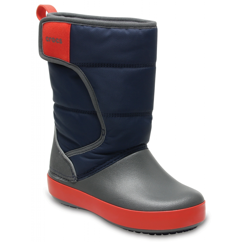 LodgePoint Snow Boot K Navy/Slate Grey
