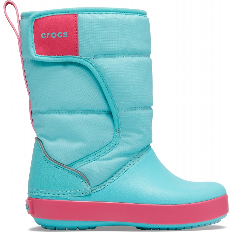 LodgePoint Snow Boot K Slate Ice blue/Pool