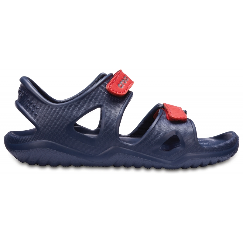 Kids' Swifwater River Sandal Navy/Flame