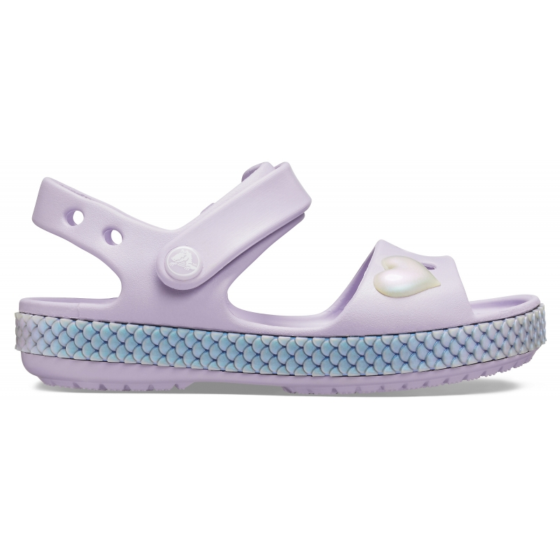 Kids' Crocband Imagination Sandal PS, Lavender