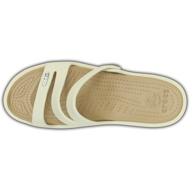 Patricia Sandal Oyster / Gold