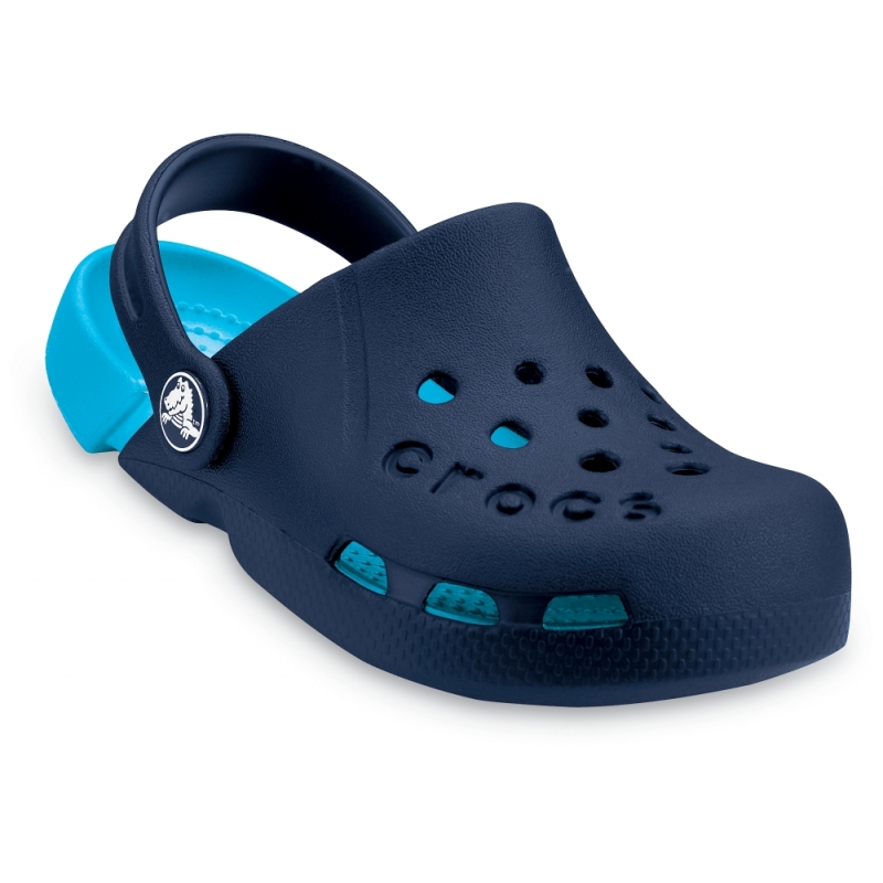 Electro Clog K Navy / Electric Blue