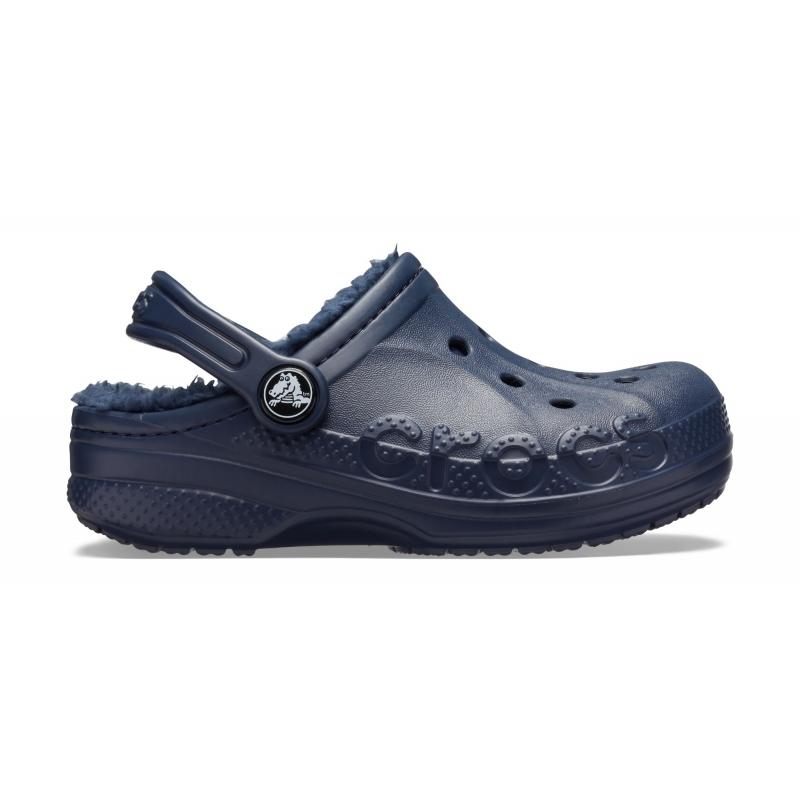 Baya Lined Clog Kid's Navy/Navy
