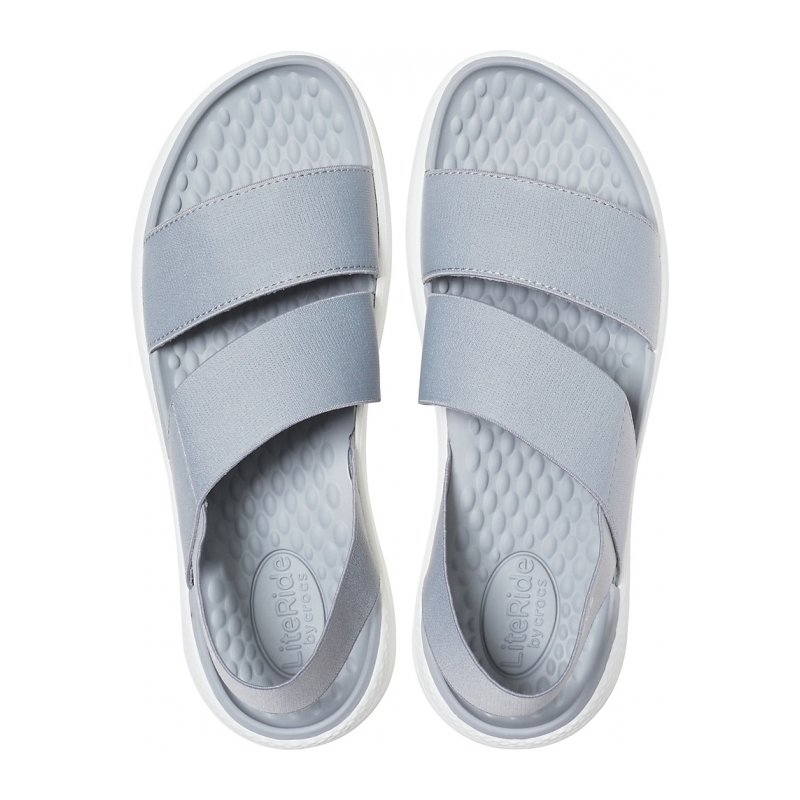 LiteRide Stretch Sandal W Light Grey/White