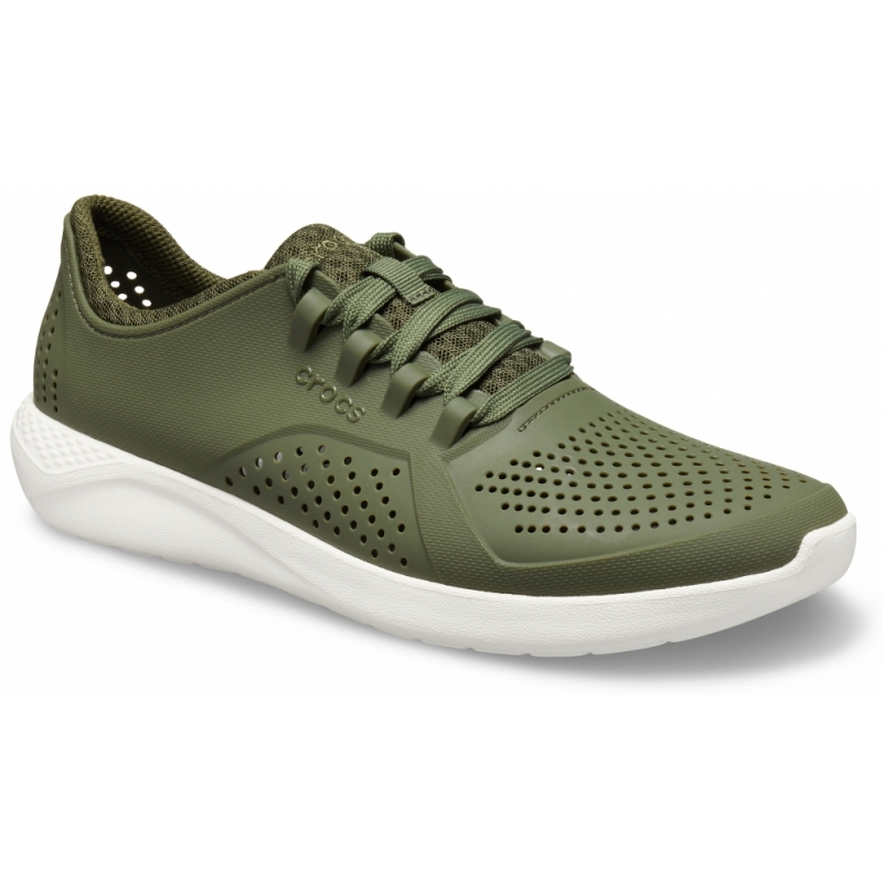 Men's LiteRide Pacer Army Green/White