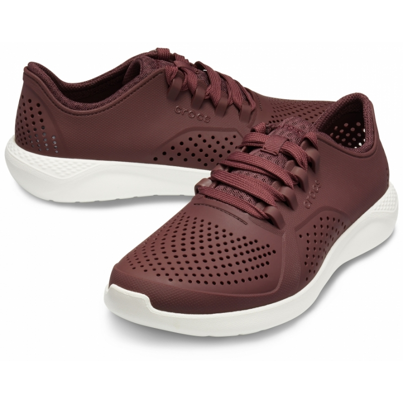 Men's LiteRide Pacer Burgundy/White