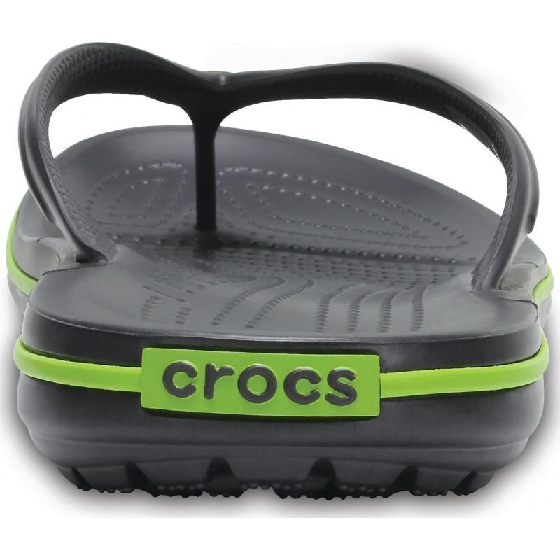Crocband Flip Graphite/Volt Green