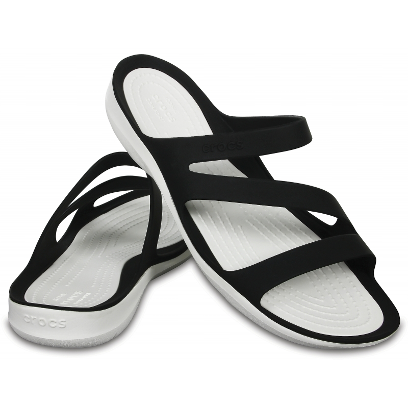 Women's Swiftwater Sandal Black/White