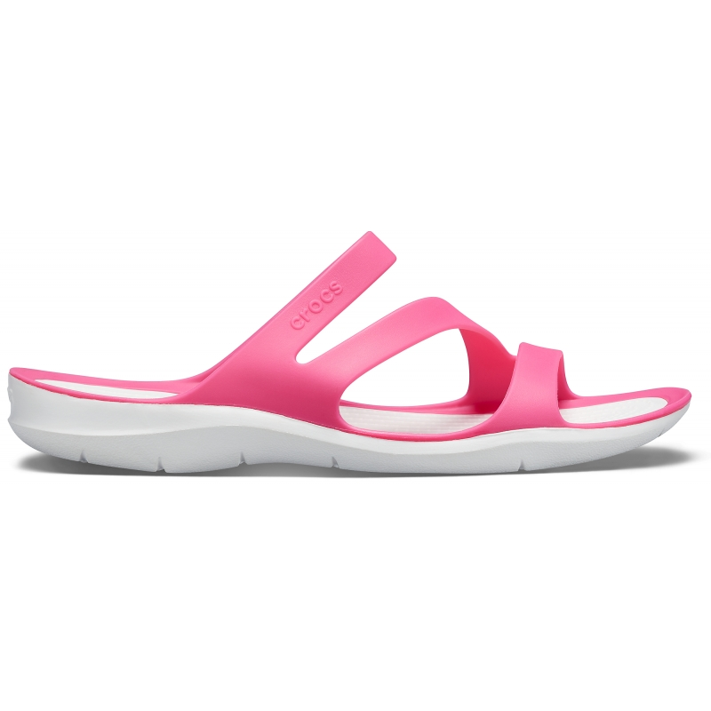 Women's Swiftwater Sandal, Party Pink/White