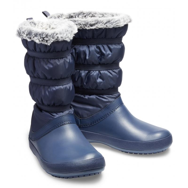 Crocband Winter Boot Women Navy