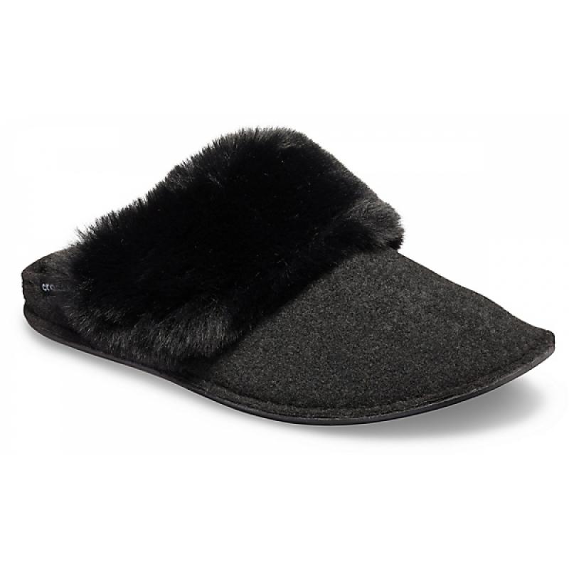 Classic Luxe Slipper Black