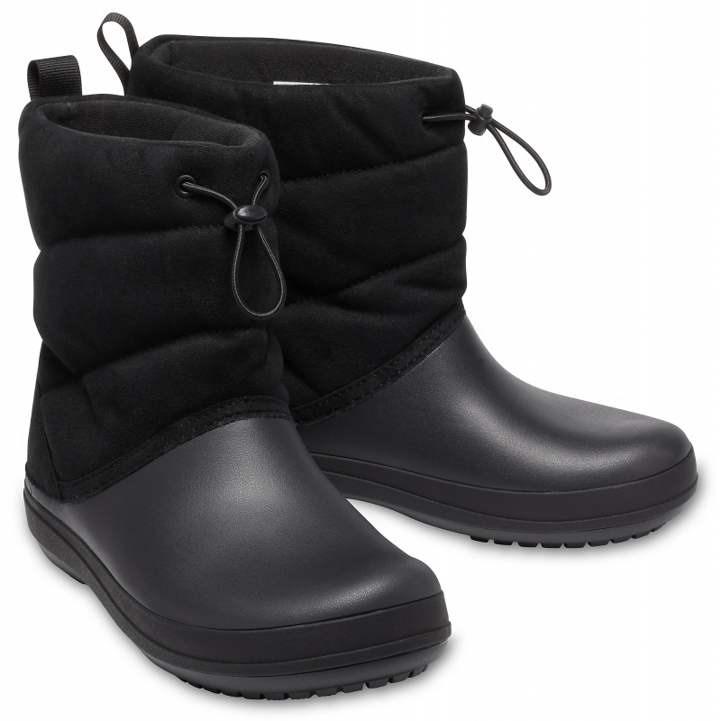 Crocband Puff Boot Women's, Black