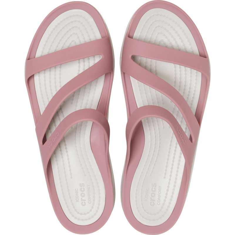 Women's Swiftwater Sandal, Cassis/Pearl White