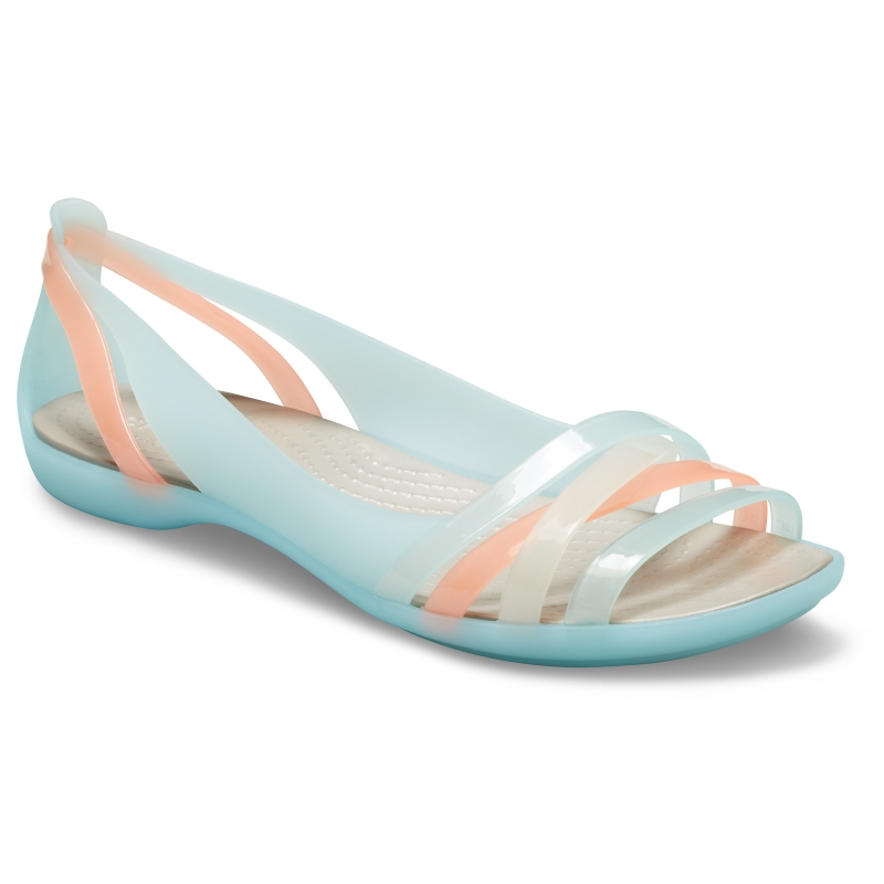 Isabella Huarache II Flat Ice Blue/Platinum