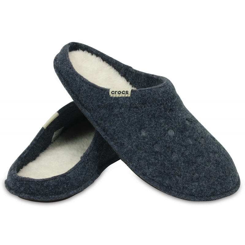 Classic Slipper Nautical Navy / Oatmeal