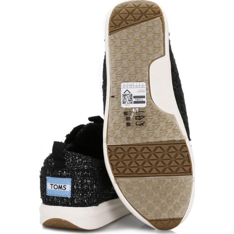 Glitter Wool Women's Del Rey Sneaker Black