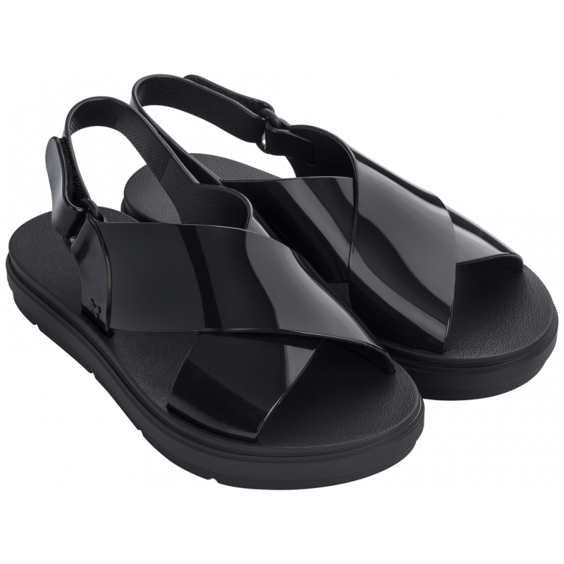 Talk Sandal Platform 17608 Black
