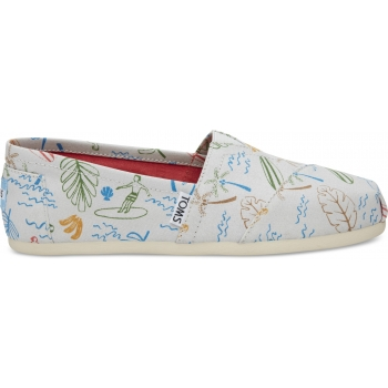 Surf City Women` Alpargata Grey Multi