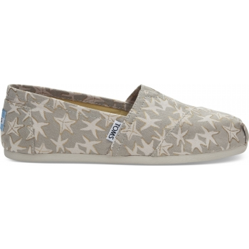 Foil Starfish Women`s Alpargata Oxford Tan/Gold