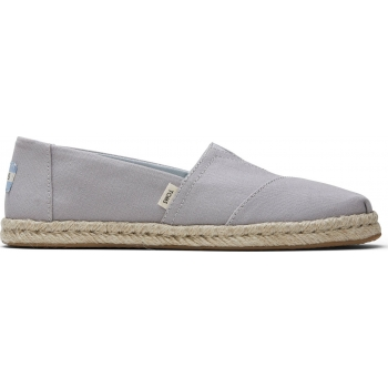 Plant Dyed Canvas Rope Women`s Alpargata Grey