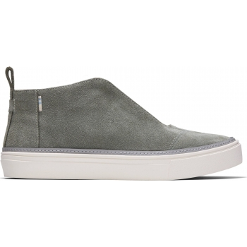 Suede Women`s Riley Sneaker Dusky Grey