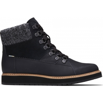 Waterproof Leather Suede Women`s Mesa Black
