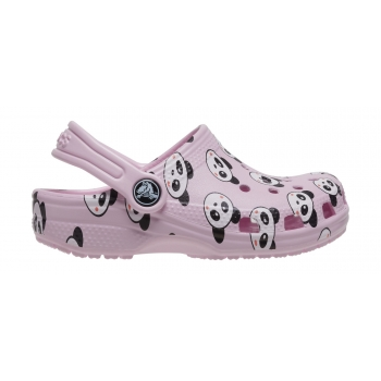 Classic Panda Print Clog K Ballerina Pink