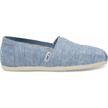 Slub Chambray Women`s Alpargata Blue