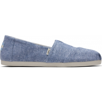 Slub Chambray Women`s Alpargata Chambray Blue