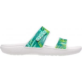 Crocs™  Classic Tropical Sandal White/Multi