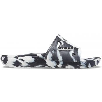 Crocs™  Classic Marbled Slide White/Multi