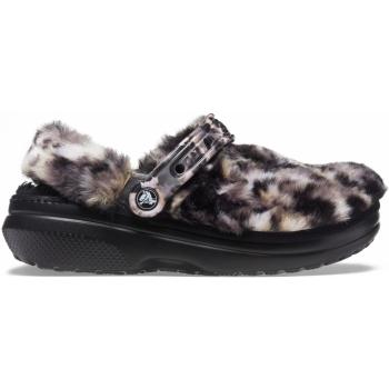 Classic Fur Sure Clog Black/Multi