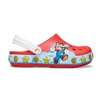 Fl Super Mario Lights Clog Kids Flame