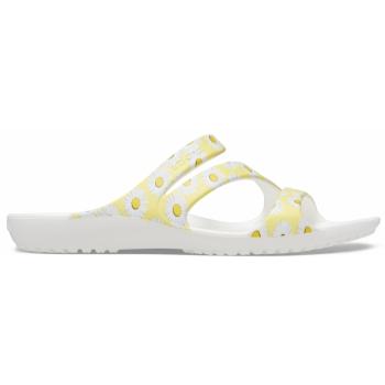Kadee II Graphic Sandal W White/Yellow Daisy